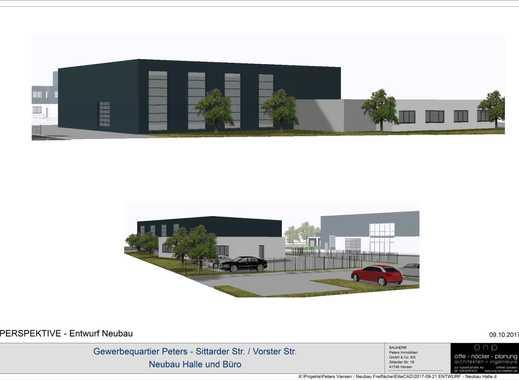 Provisionsfrei: Neubau Halle mit Büro