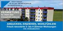 Frisch renovierte 3-Zimmer-Wohnnung mit EBK