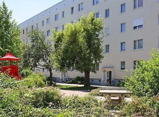 Zentrumsnahe 2-Raum-Wohnung im Erdgeschoss