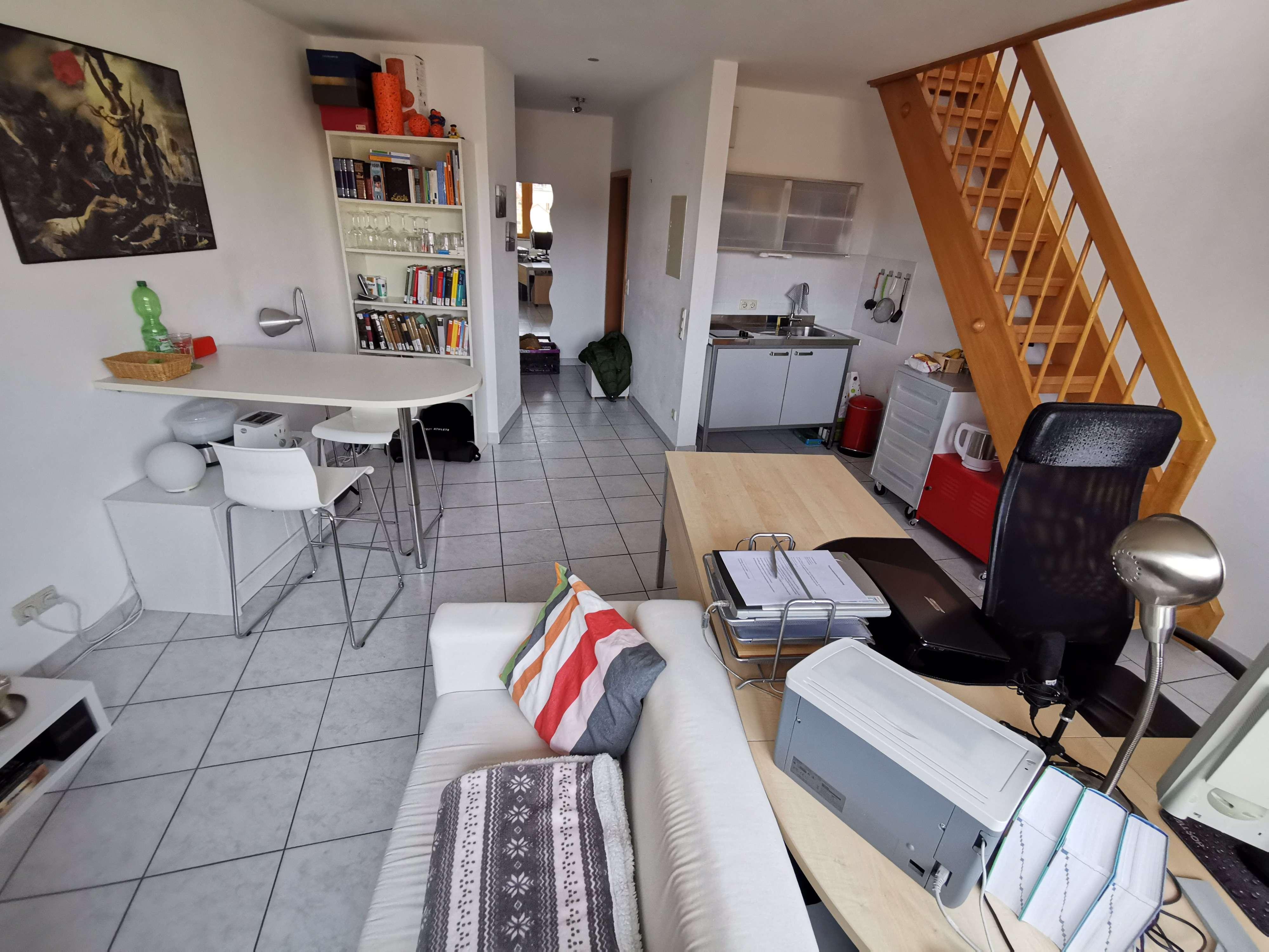 500 €, 46 m², 2 Zimmer in
