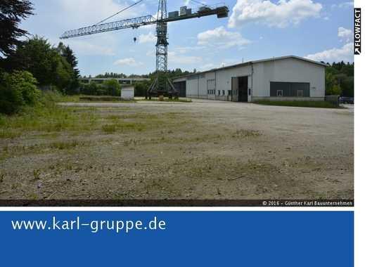 Voll ausgestatteter Bauhof inmitten Gewerbepark Nähe Passau zu verkaufen!