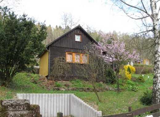Schönes, ruhig gelegenes Erholungsgrundstück mit gemütlichem Gartenbungalow in Sonneberg OT