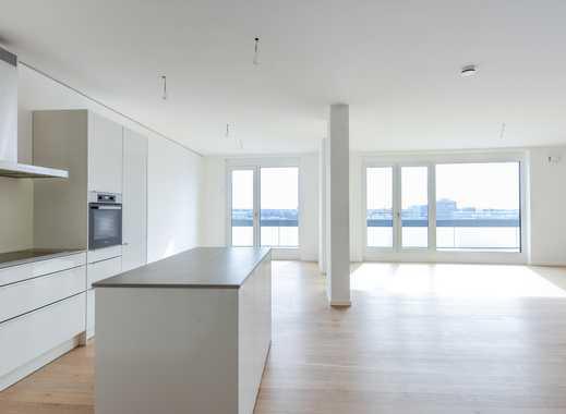 Wohnzimmer mit 65qm - Repräsentative Neubauwohnung mit Raum zum Atmen