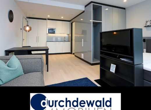 Modern möbliertes 1,5-Zimmer-Apartment mit Balkon - Erstbezug