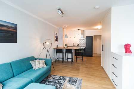 Erstbezug nach Revitalisierung: vollmöbliertes 1,5 Zi.-Apartment - von PRIVAT in Neuhausen (München)
