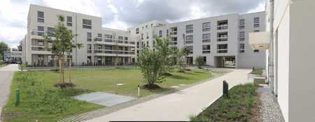Erstbezug: gut geschnittene 2-Zimmer-Wohnung mit unverbautem Blick in die Parkanlage in Trudering (München)