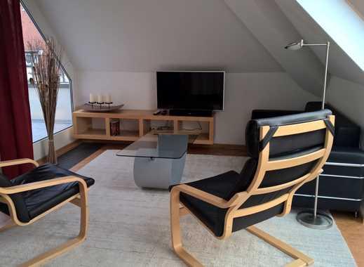 Großzügiges und hochwertig ausgestattetes 2-Zimmer-Dachgeschossapartment