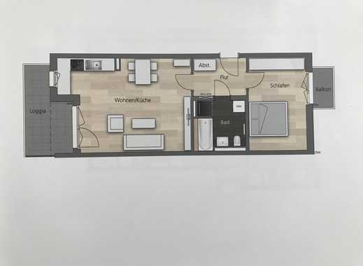 Neubau-Erstbezug - gut geschnittene 2 Zimmer Wohnung