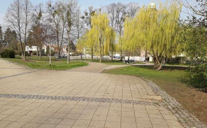 nahegelegener Park