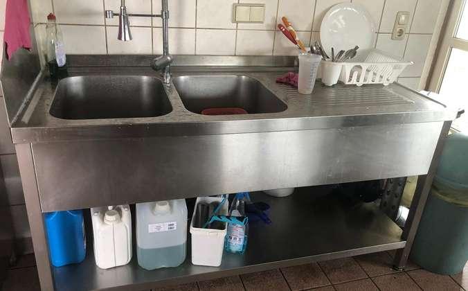 Doppelabwaschbecken