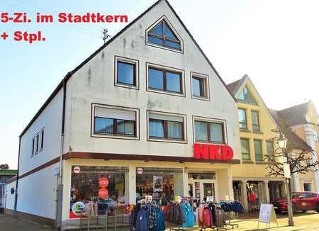 5-ZI.-WHG. IN STADTMITTE KRUMBACHS + STELLPLATZ ZU VERMIETEN!  in Krumbach (Schwaben)