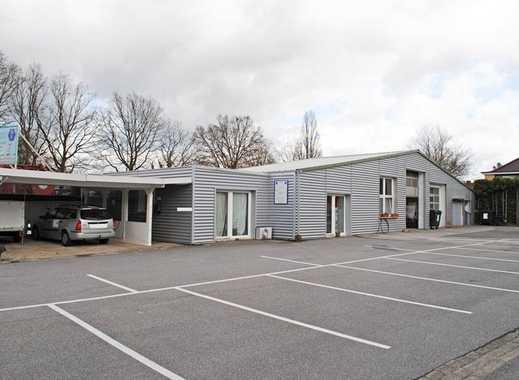 Mit vielen Optionen: Gut geschnittene Gewerberäume mit Büro und Lager im Gewerbepark Reinbek/Glinde