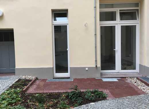 Erstbezug nach Sanierung! Studiowohnung mit Terrasse und Hochebene