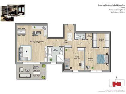 mietwohnungen bad lippspringe wohnungen mieten in paderborn kreis bad lippspringe und. Black Bedroom Furniture Sets. Home Design Ideas