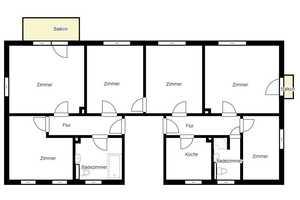 6 Zimmer Wohnung in Goslar (Kreis)