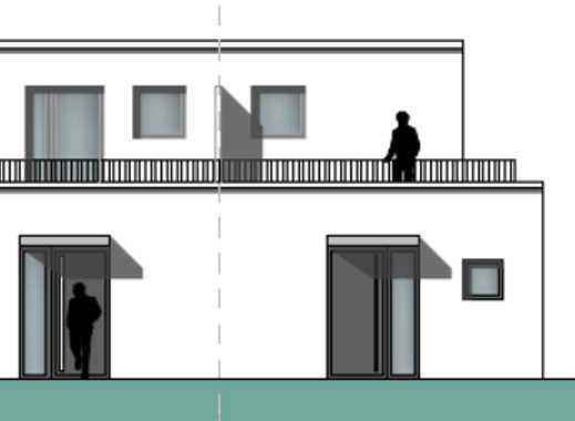 Wohn(t)räume im Herzen von Pulheim! Neubau-Eigentumswohnung in einem Doppelhaus mit Garten