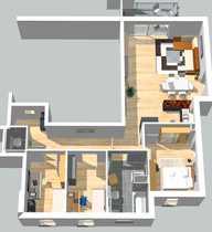 4 Zimmer-Neubauwohnung mit Balkon