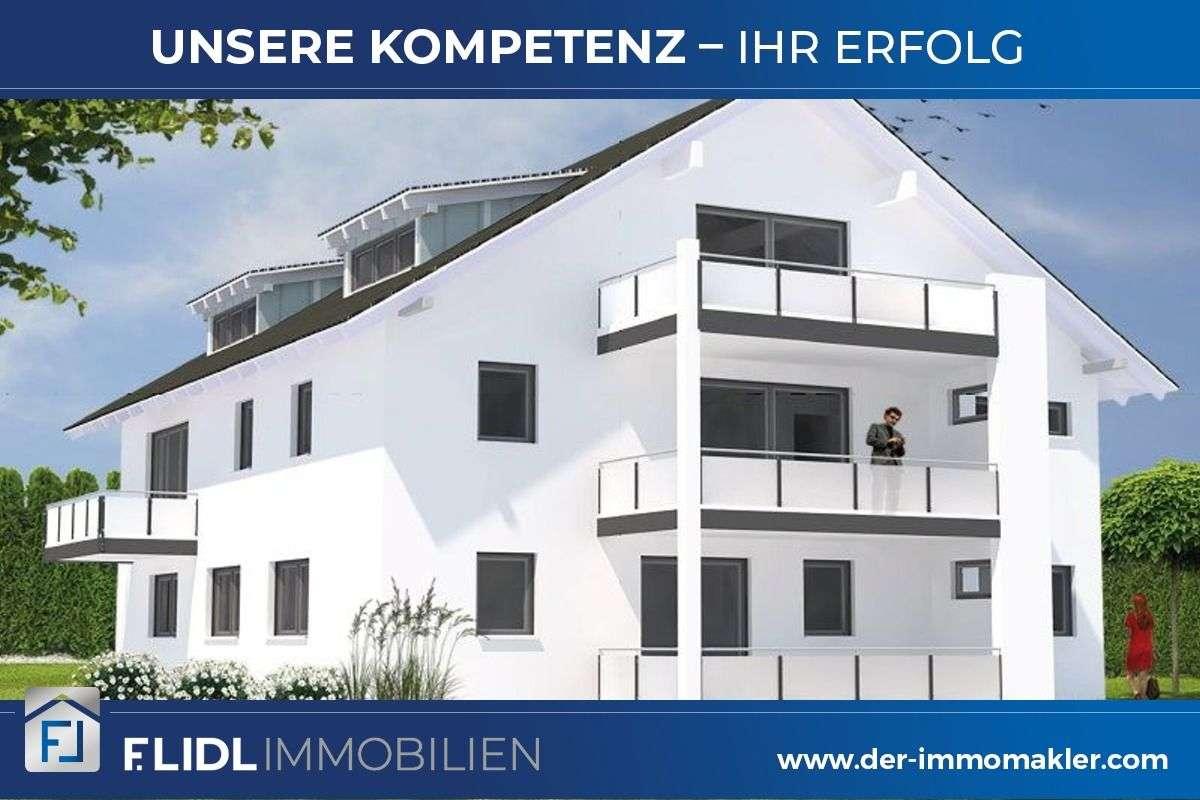 Exklusive Mietwohnung 2 Zimmer  1.OG m. Balkon Neubau In Neuhaus / Inn