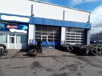 Gewerbeobjekt mit Autowerkstatt und Reifenhandel