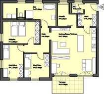 Modern und exklusiv 4-Zimmer Wohung