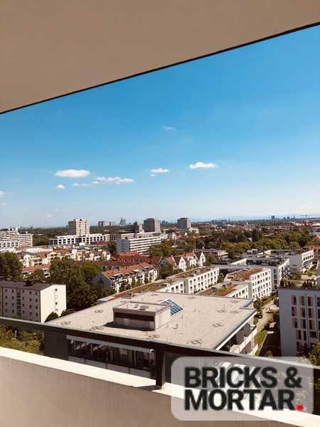 +++Über den Dächern Münchens+++ 1 Zimmer Appartement in Schwabing in Schwabing-West (München)