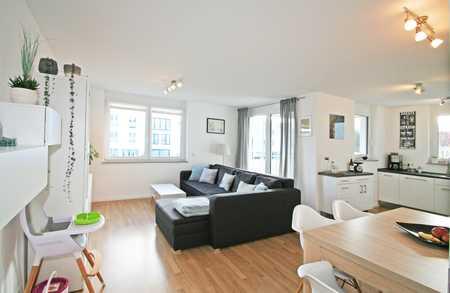 Moderne und lichtdurchflutete 3-Zi-Wohnung mit Süd-/Ostbalkon in ruhiger, familienfreundlicher Lage in Landsberg am Lech