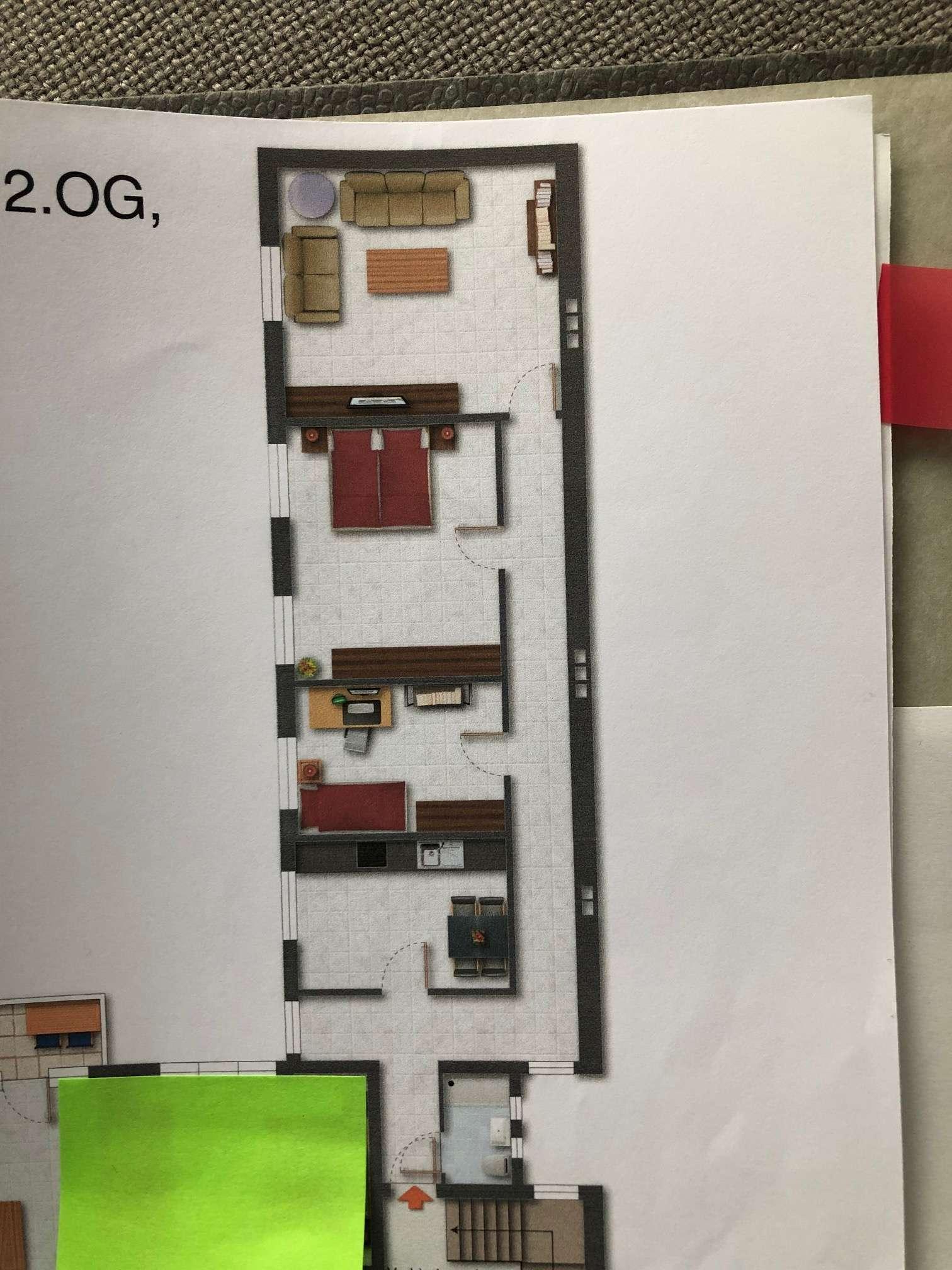 3-Zimmer Wohnung City  Alexanderstraße * WG möglich *