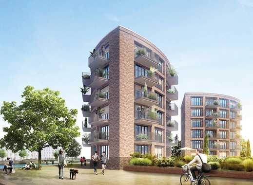Großzügige 3-Zimmer-Wohnung mit Blick zum neuen Yachthafen und auf den Rhein
