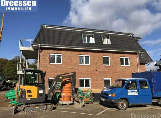 Büsum: Geräumige 3 Zimmer Wohnung Nr. 6 im 1. Obergeschoss der Neubau-Wohnanlage auf Eigenland