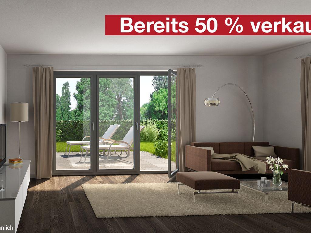 Exklusive 3-Zimmer Gartenwohnung in grüner und ruhiger Lage