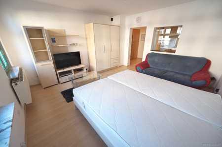 Nbg-Mühlhof: Großzügiges, vollmöbl. 1 Zi-Apartment mit EBK zu vermieten! Internet inklusive in Krottenbach, Mühlhof (Nürnberg)