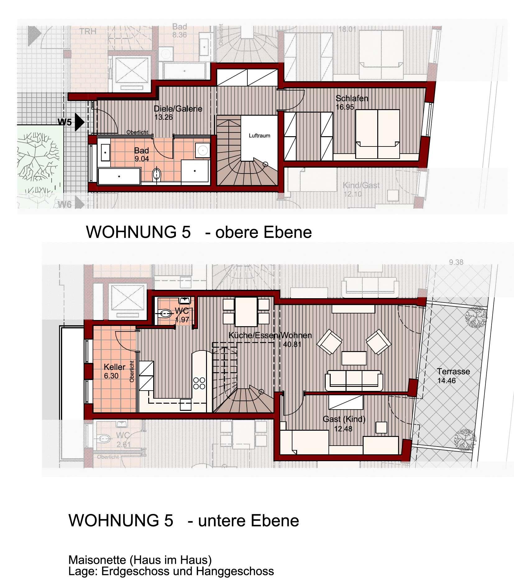 Exklusive Maisonetten-Wohnung in Freilassing! in Freilassing