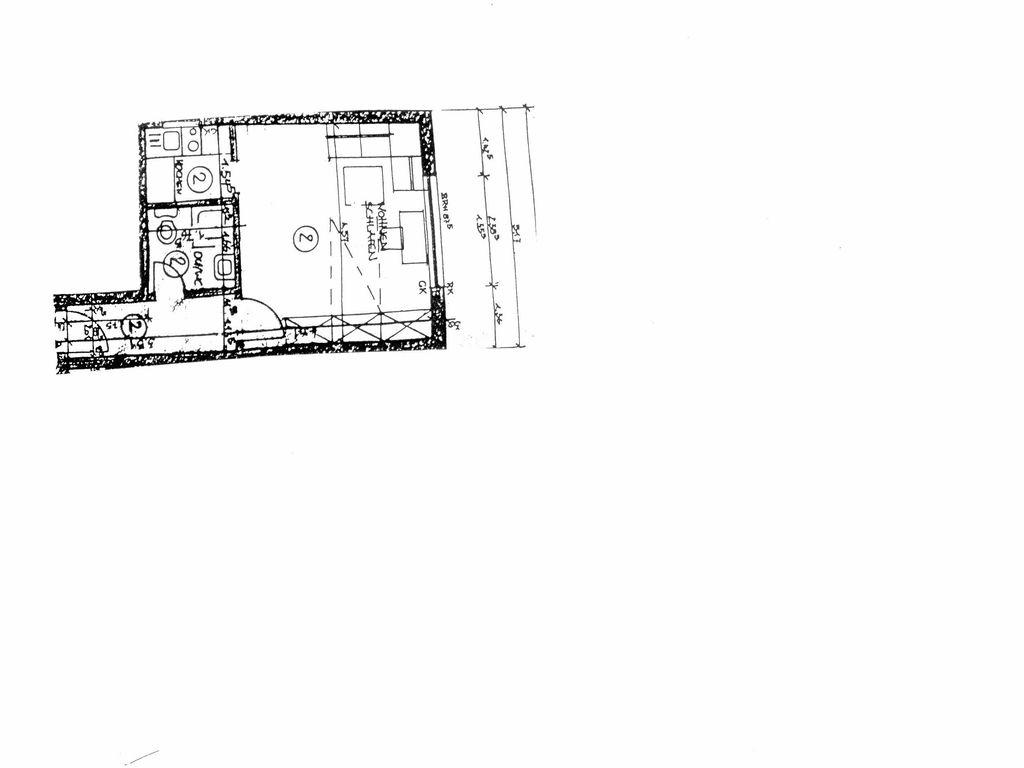 gepflegte 1 zimmer hochparterre wohnung mit einbauk che in dortmund. Black Bedroom Furniture Sets. Home Design Ideas