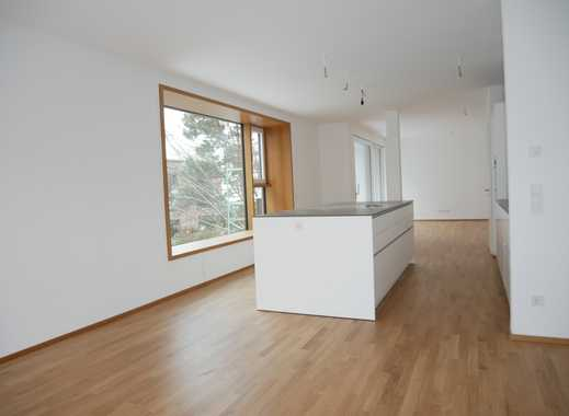 Exklusive & großzügige 4-Zimmer Wohnung im Park (hochw. Einbauküche, 2 x gr. Balkon, 1.OG) in Thon