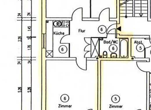 Gepflegte 2,5-Zimmer-Wohnung mit Balkon und EBK in Halstenbek