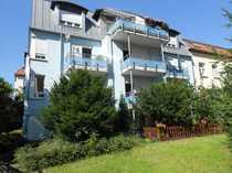 DG-Wohnung mit Balkon in ruhigem Gartenhaus