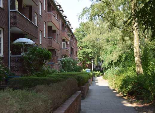 Freundliche 2-Zimmer-Dachgeschosswohnung mit Dielenboden in Hoheluft-Ost, Hamburg