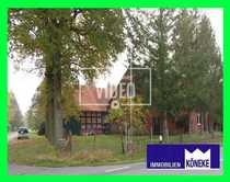 Resthof mit Fachwerkscheune auf 9683