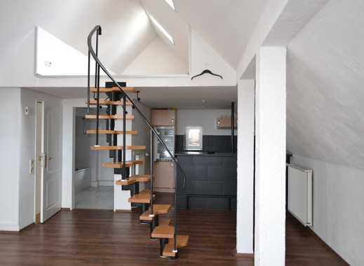 Moderne 1-Zimmer-Wohnung mit Schlafgalerie!