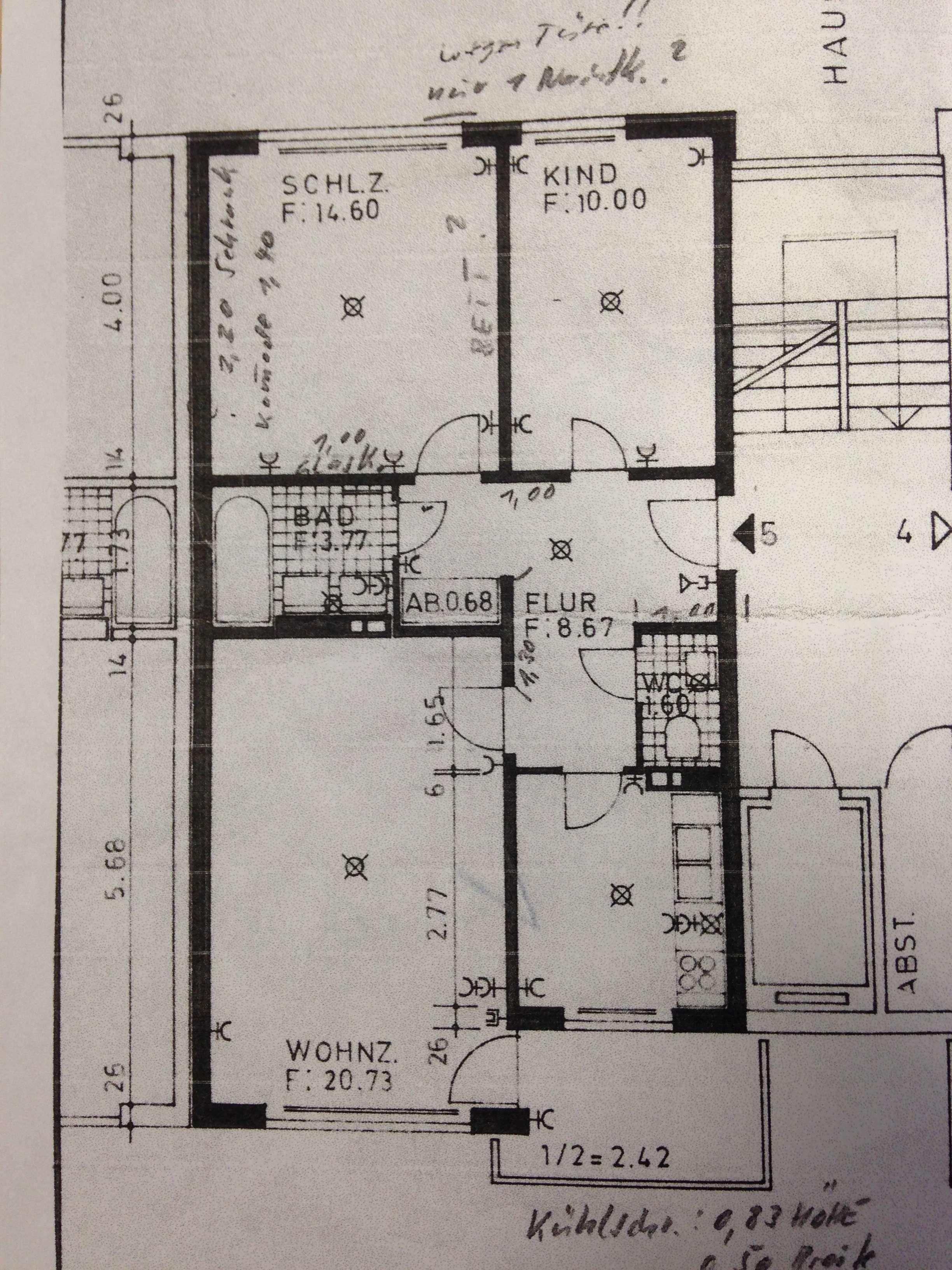 Exklusive, gepflegte 3-Zimmer-Wohnung mit Balkon und Einbauküche in Aubing, München