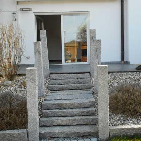 Stilvolle 3-Zimmer-EG-Wohnung mit Terrasse und Garten in Regenstauf/Diesenbach in Regenstauf