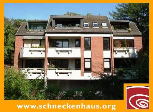 St. Magnus! 1 Zimmer-Souterrain-Appartement mit Terrasse!
