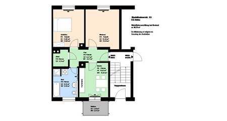 *Giesing*2 Zimmer*möbliert*Küche mit EBK*Balkon*Bad mit Wanne und Fenster*Keller* in Obergiesing (München)