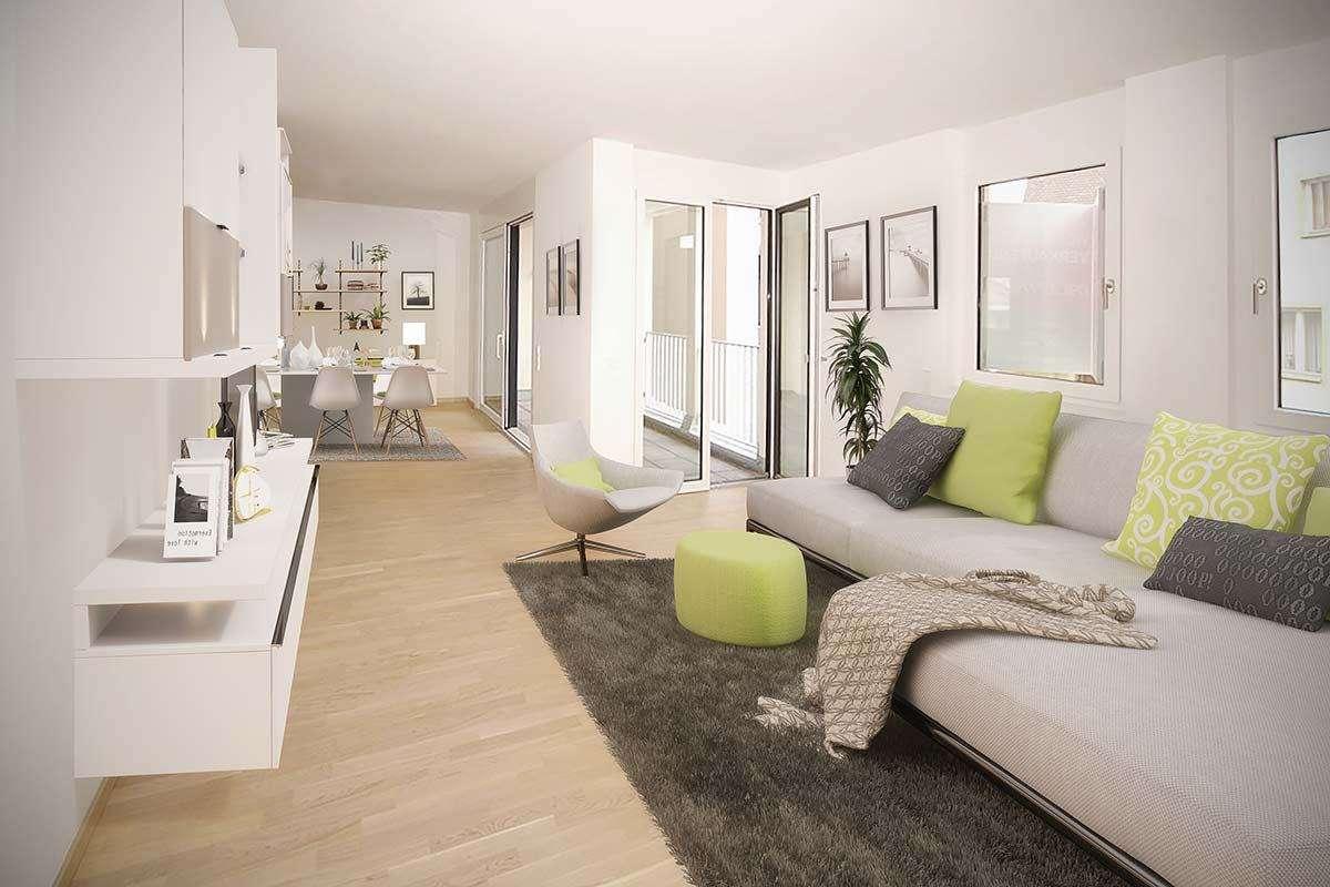 Erstbezug *** Exklusive & moderne 3-Zimmer Wohnung (tolle Einbauküche, Lift, TG) am Marktplatz in Forchheim (Forchheim)