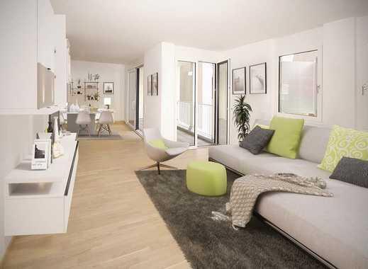 Erstbezug *** Exklusive & moderne 3-Zimmer Wohnung (tolle Einbauküche, Lift, TG) am Marktplatz