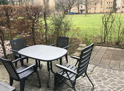 1,5 Zimmerwohnung mit Terasse und Garten in Bogenhausen