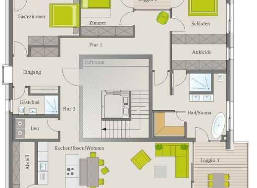 Außergewöhnliches  4,5-Zimmer- Penthaus mit traumhaftem Ausblick in Dormitz