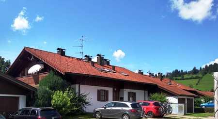 Vollmöblierte 3-Raum-Wohnung mit Balkon, Terrasse und Einbauküche in Retternberg mit Bergblick in Rettenberg