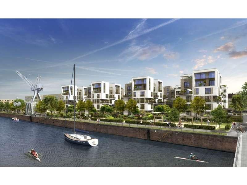 Idealer Grundriss für Singles oder Paare! Elegante 2-Zimmer-Wohnung mit Loggia direkt am Wasser