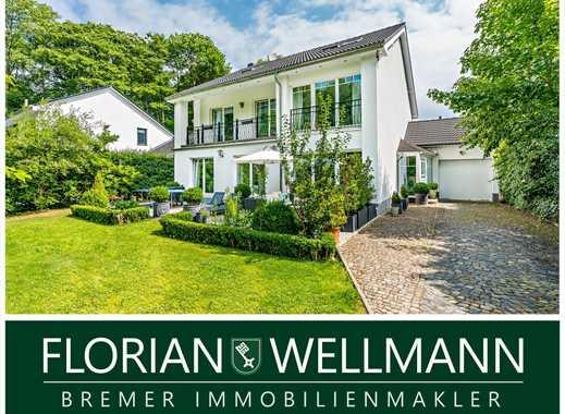 Bremen - Oberneuland | Außergewöhnliche 8 Zimmer Villa mit exklusiver Ausstattung mitten im Grünen!